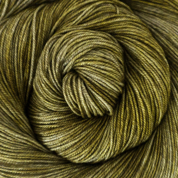 Yakity Yak Fingering Weight Yarn - Gold Tonal