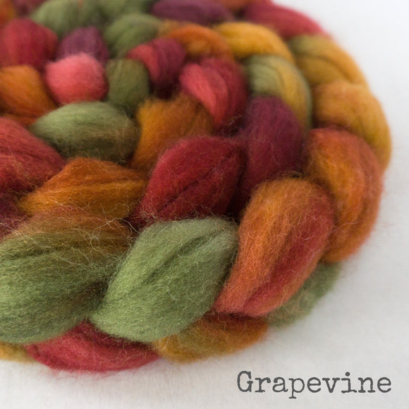 Sock Roving - Grapevine