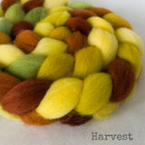 Falkland Wool Roving - Harvest