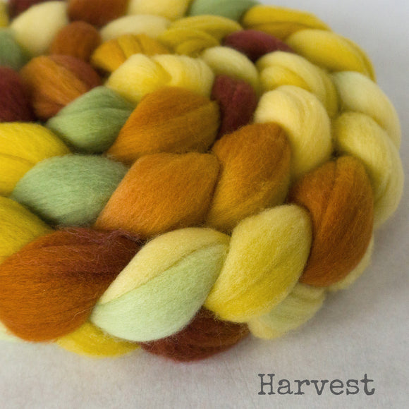 Merino Superfine Roving - Harvest