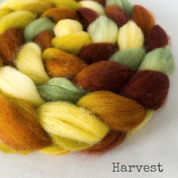 Sock Roving - Harvest