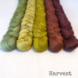 Merino Yak Silk Roving - Harvest - Bundle