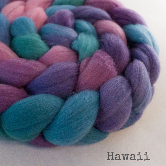Merino Superfine Roving - Hawaii
