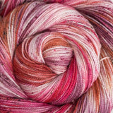 Gold Dust Yarn - Hot Lips Speckled