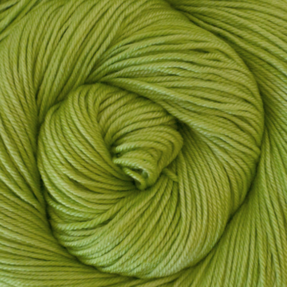 Silky Sheep Yarn - Lime Semi Solid