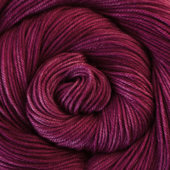 Silky Sheep Yarn - Magenta Semi Solid