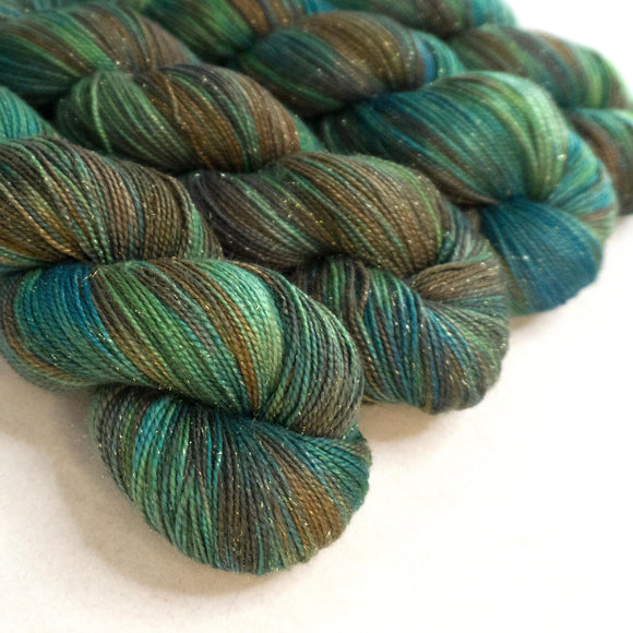 Gold Dust Yarn - Mallard Variegated