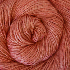 Silky Sheep Yarn - Melon Semi Solid