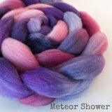 Falkland Wool Roving - Meteor Shower