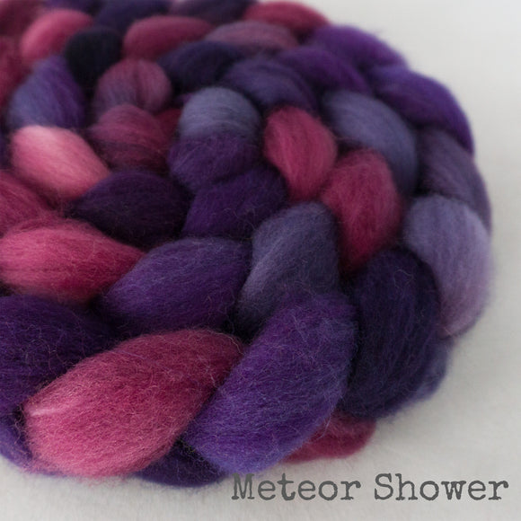 Sock Roving - Meteor Shower