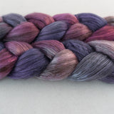 Yak Silk Roving - Meteor Shower