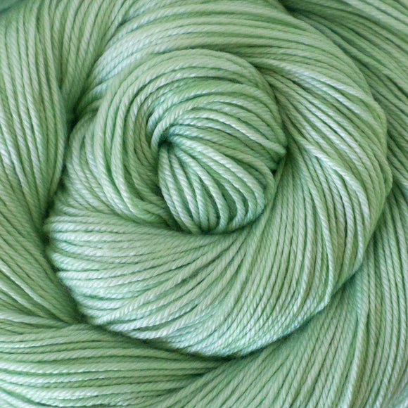 Silky Sheep Yarn - Mint Semi Solid