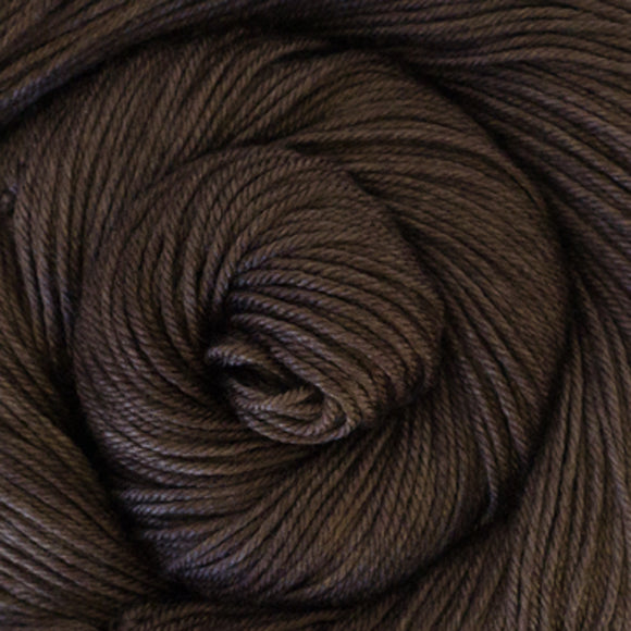 Silky Sheep Yarn - Mocha Semi Solid