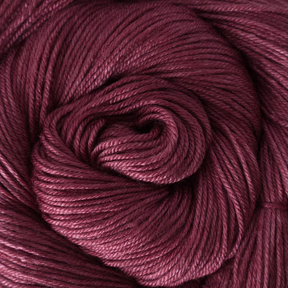 Silky Sheep Yarn - Mulberry Semi Solid