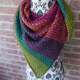 Pattern Nightshift Shawl