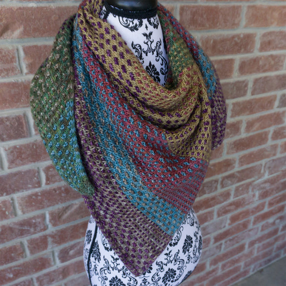 Nightshift Shawl Kit - Weekend