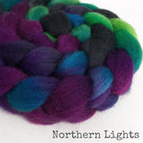 BFL Wool Roving - Northern Lights