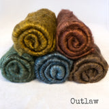 Yak Silk Batts 5/pack - Outlaw