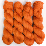 Gold Dust Yarn - Pumpkin Semi Solid