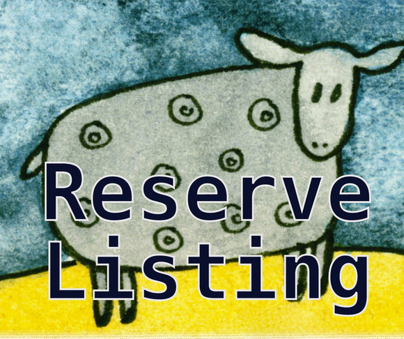 Reserve Listing for Cathy