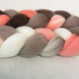 Falkland Wool Roving - Retro Girl
