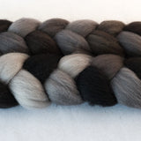Polwarth Wool Roving - River Stone