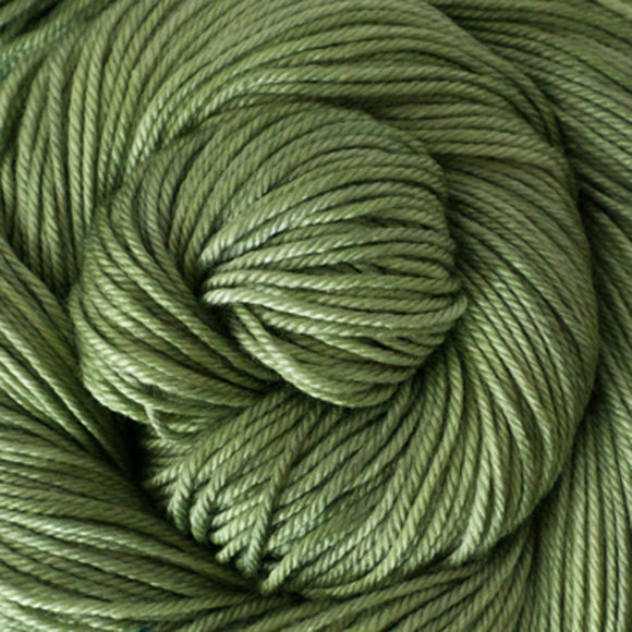 Silky Sheep Yarn - Sage Semi Solid