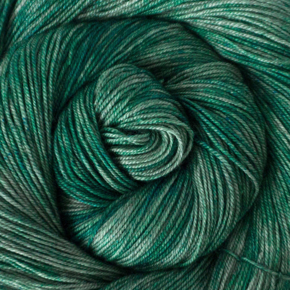 Yakity Yak Fingering Weight Yarn - Seafoam Tonal
