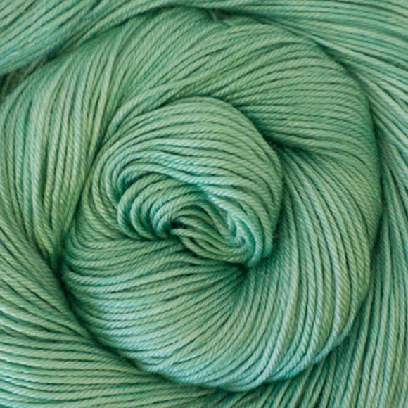 Silky Sheep Yarn - Seafoam Semi Solid