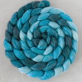 Merino Tencel Roving - Shades of Turquoise