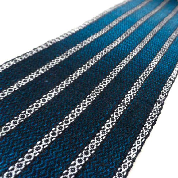 Woven Gradient Scarf Kit - Shades of Turquoise