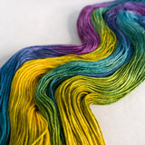 Silky Sheep Yarn - Summertime - OOAK