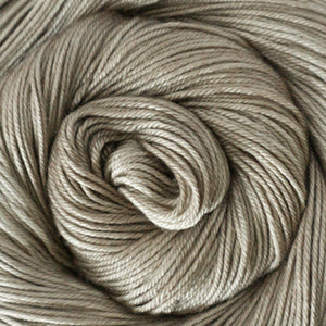 Silky Sheep Yarn - Taupe Semi Solid