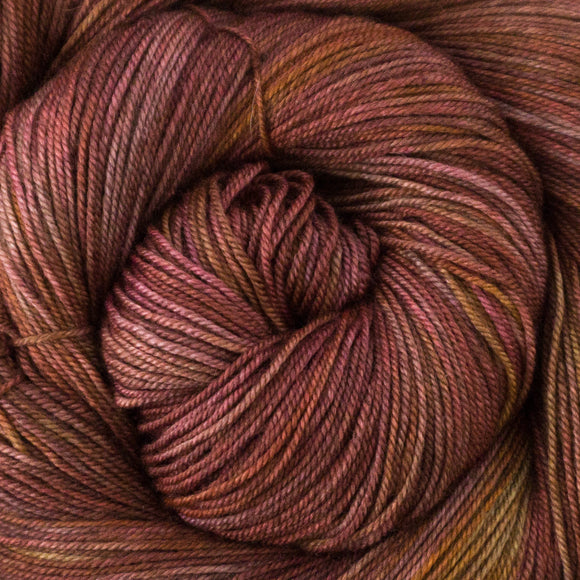 Yakity Yak Fingering Weight Yarn - Tiger Lily