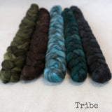 Heathered BFL Roving - Tribe - Bundle