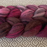 Black Bamboo Silk Roving - Victoria