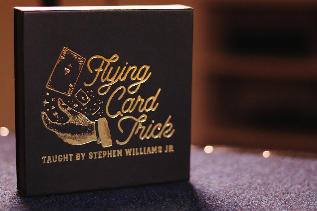 The Flying Card Trick DVD!