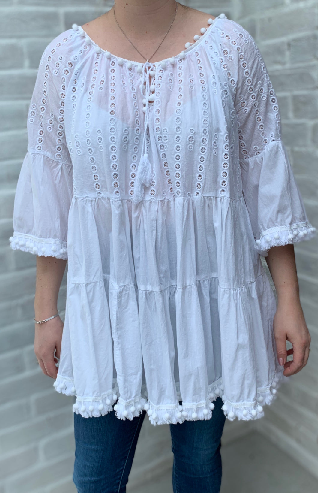 White Smock top or Dress