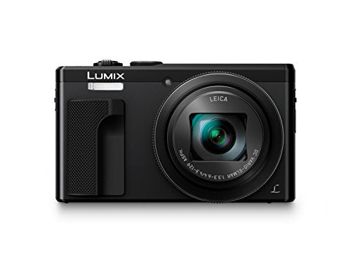 Amazon.com : PANASONIC LUMIX 4K Point and Shoot Camera, 30X LEICA DC Vario-ELMAR Lens F3.3-6.4, 18 Megapixels, High Sensitivity Sensor, DMC-ZS60K (BLACK) : Camera & Photo