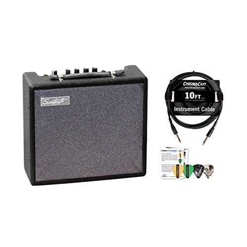 Amazon.com: Sawtooth ST-AMP-10-KIT-1ST-AMP-10-KIT-1 10-Watt Electric Guitar Amp with Pro Series Cable and Pick Sampler: Musical Instruments