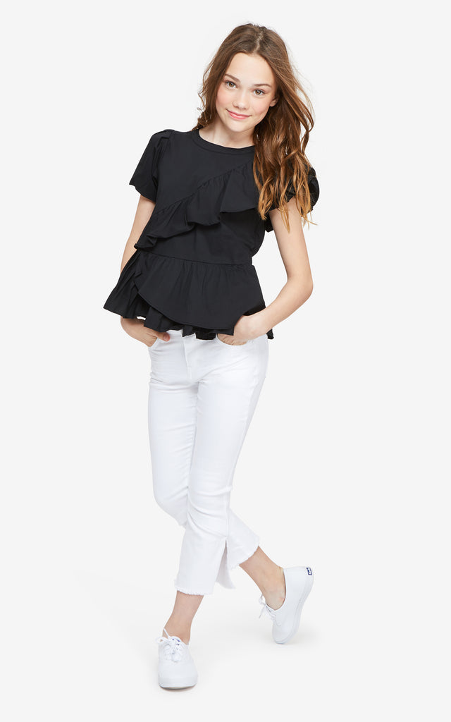 Amber Asymmetrical Top