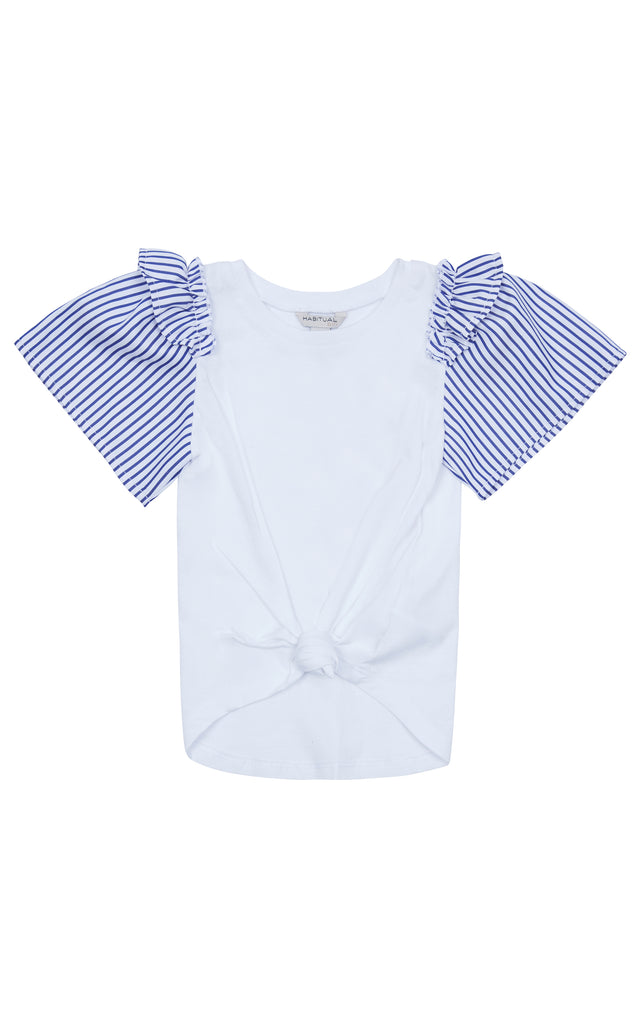 Samantha Ruffle Top | 2T-4T
