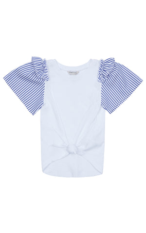 Samantha Ruffle Top | 2T-4T - Habitual