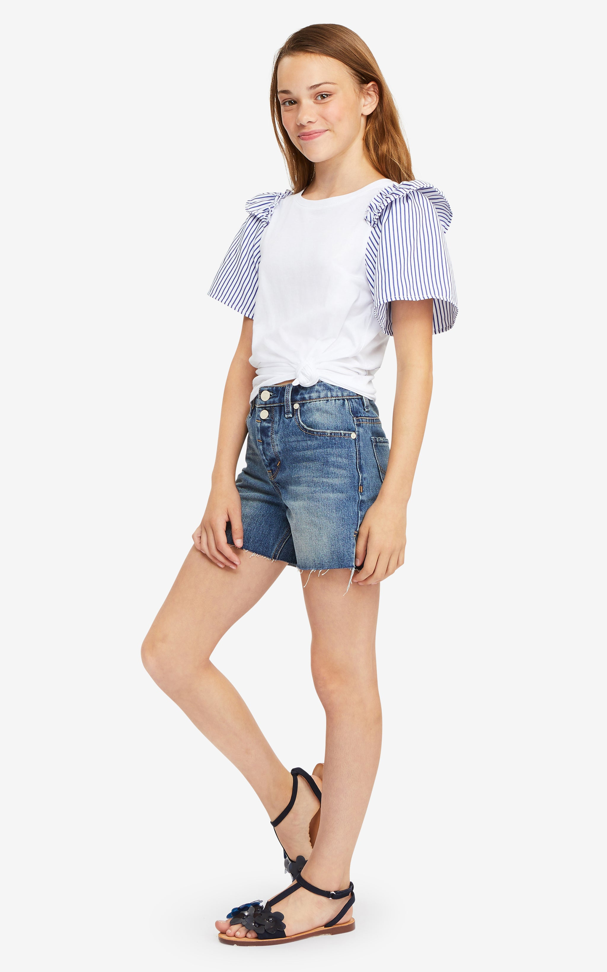 Samantha Ruffle Top