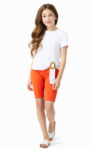 Emma Twist Buckle Top | 7-16 - Habitual