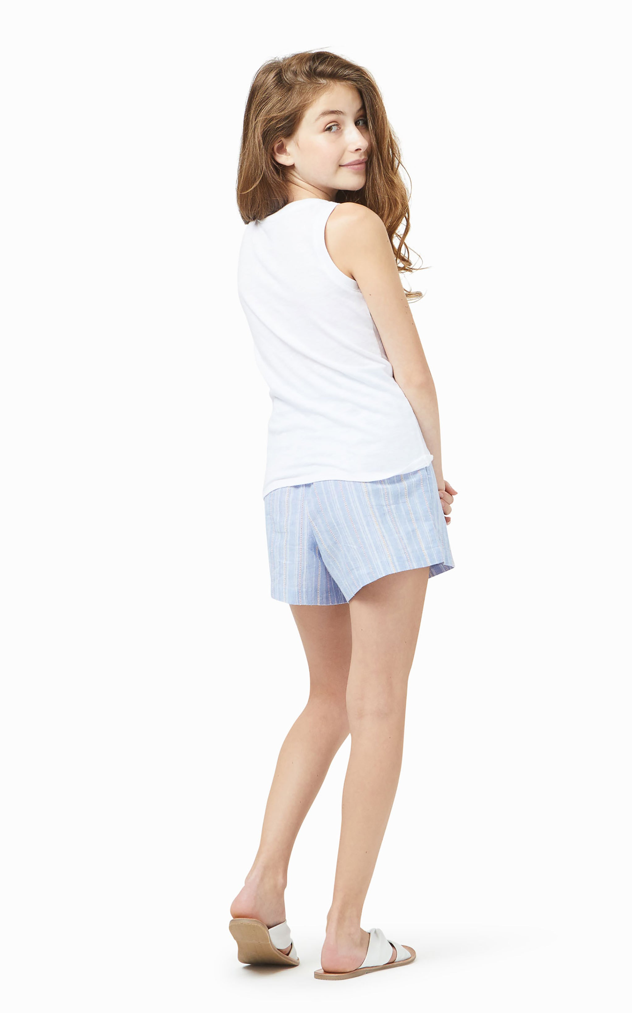 Lola Front Twist Pocket Top | 7-16 - Habitual