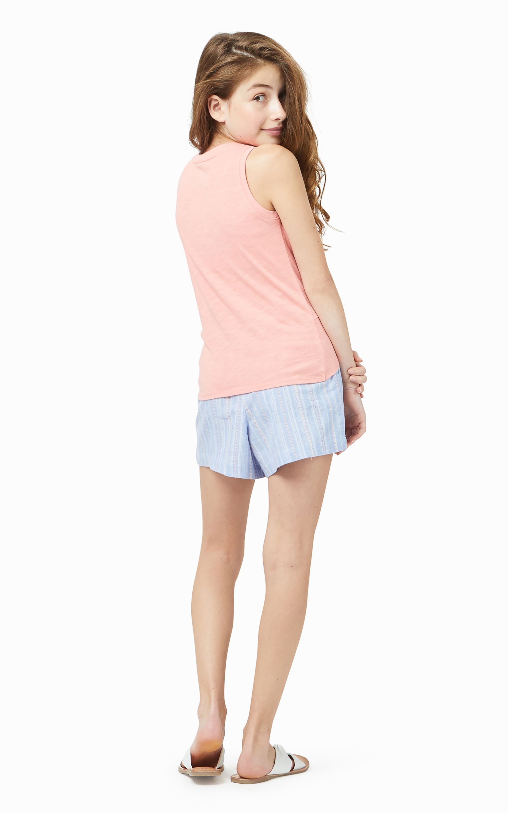 Front Twist Pocket Top | 4-6X - Habitual