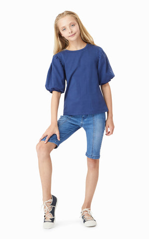 Aadhya Balloon Sleeve Top | 7-16 - Habitual