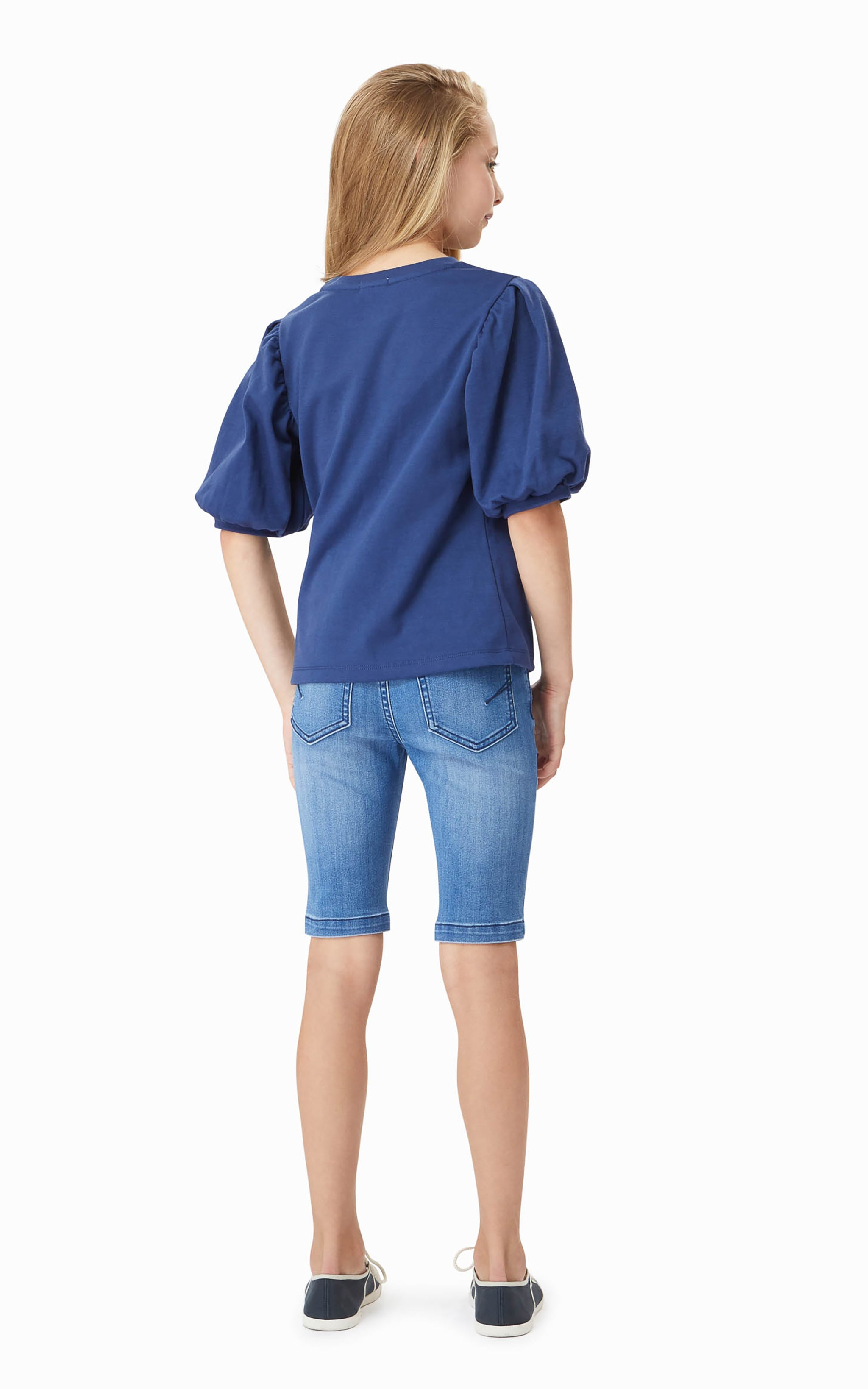 Aadhya Balloon Sleeve Top | 4-6X - Habitual