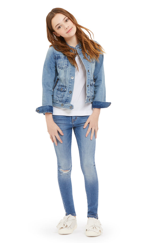 Blakely Button Up Denim Jacket